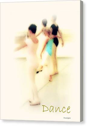 Dance Canvas Print by YoMamaBird Rhonda