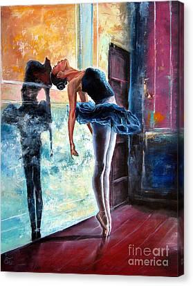 Dancer Canvas Print by Osi
