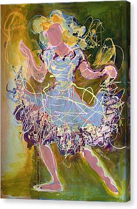 Dancing 1 Canvas Print by Marilyn Jacobson