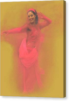 Dancing For Joy Canvas Print by Jeff Burgess