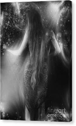Dancing In The Moonlight... Canvas Print by Nina Stavlund