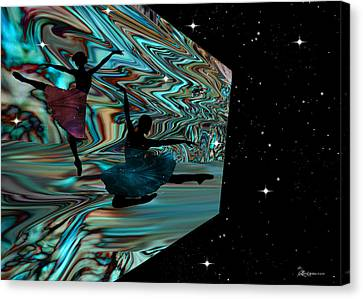 Dancing With The Stars-featured In Harmony And Happiness Group Canvas Print by EricaMaxine  Price