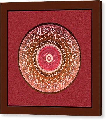Dancing Women Mandala  Canvas Print by Kandy Hurley