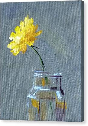 Dandelion Canvas Print by Nancy Merkle