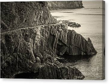 Dangerous Passage Of Cinque Terre Canvas Print by Prints of Italy