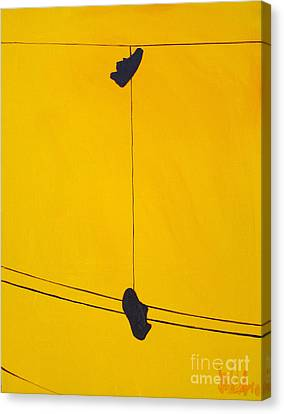 Dangling Souls Canvas Print by Michael Ciccotello