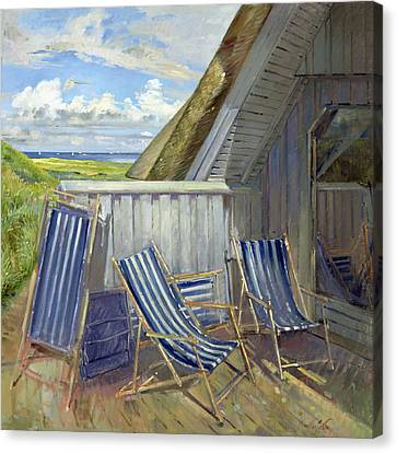 Danish Blue, 1999-2000 Oil On Canvas Canvas Print by Timothy Easton