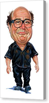 Danny Devito Canvas Print by Art