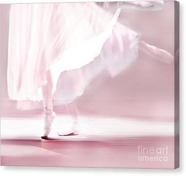 Danseur De Ballet Canvas Print by Linde Townsend