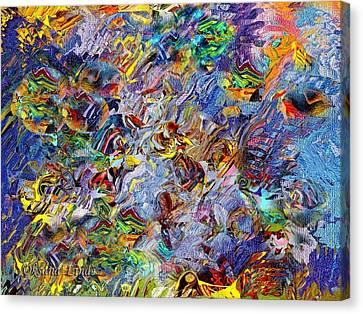 Danza Xx Canvas Print by Oksana Linde