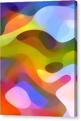 Dappled Light 5 Canvas Print by Amy Vangsgard