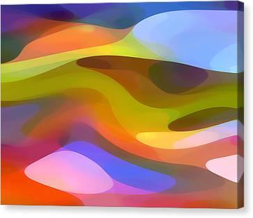 Dappled Light 9 Canvas Print by Amy Vangsgard