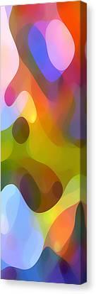 Dappled Light Panoramic Vertical 3 Canvas Print by Amy Vangsgard