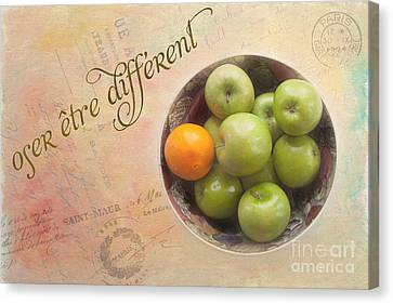 Dare To Be Different Canvas Print by Kay Pickens