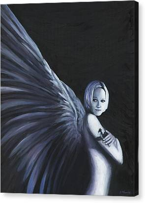 Dark Angel Canvas Print by Joe Maracic
