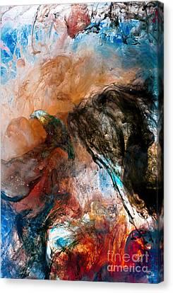 Dark Angel Canvas Print by Petros Yiannakas