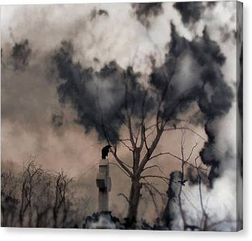 Dark Dream Canvas Print by Gothicolors Donna Snyder