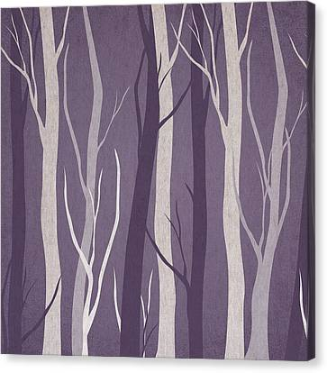 Dark Forest Canvas Print by Aged Pixel