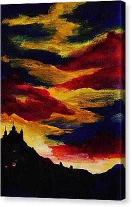 Dark Times Canvas Print by Anastasiya Malakhova