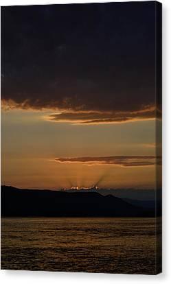 Darkness Falls Canvas Print by Joshua Massenburg