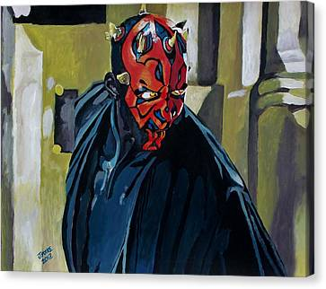 Darth Maul Canvas Print by Jeremy Moore