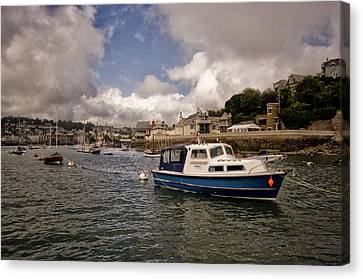 Dartmouth And Kingswear Boats And Harbour Canvas Print by Jay Lethbridge