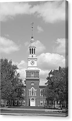 Dartmouth College Baker- Berry Library Canvas Print by University Icons