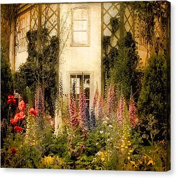 Darwin's Garden Canvas Print by Jessica Jenney