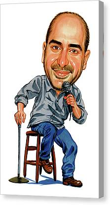 Dave Attell Canvas Print by Art