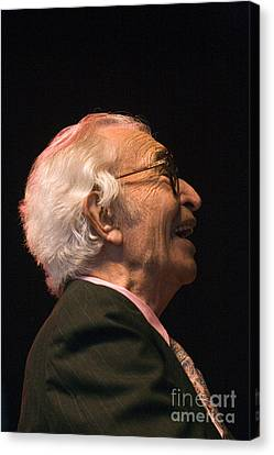 Dave Brubeck Enlightened Canvas Print by Craig Lovell