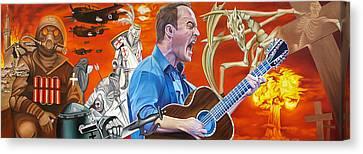 Dave Matthews The Last Stop Canvas Print by Joshua Morton