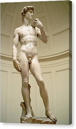 David Canvas Print by Michelangelo Buonarroti