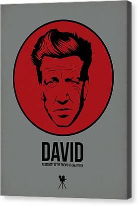 David Poster 1 Canvas Print by Naxart Studio
