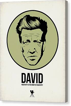 David Poster 2 Canvas Print by Naxart Studio