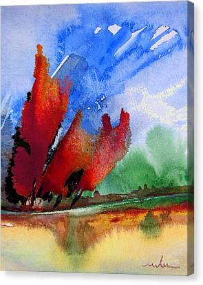 Dawn 04 Canvas Print by Miki De Goodaboom