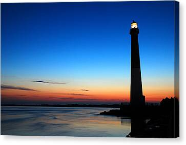Dawn At Barnegat Light Canvas Print by James Kirkikis