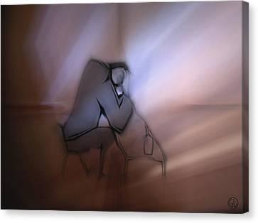Dawn Canvas Print by Gun Legler