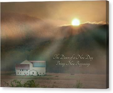 Dawn Canvas Print by Lori Deiter