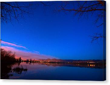 Dawn The Beginning Of The Twilight  Canvas Print by James BO  Insogna