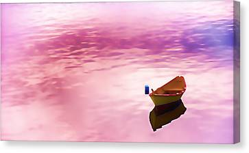 Dawns Light Reflected Canvas Print by Jeff Folger