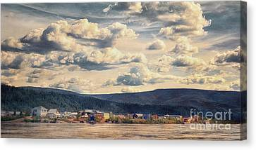 Dawson City Canvas Print by Priska Wettstein