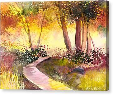 Day Break Canvas Print by Anil Nene