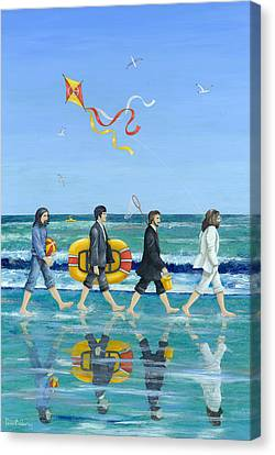 Day Tripper Canvas Print by Peter Adderley