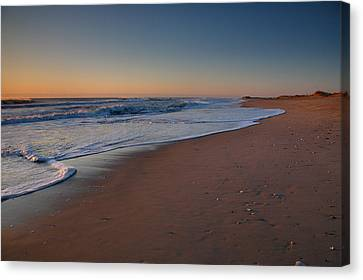Daybreak On Hatteras Canvas Print by Steven Ainsworth