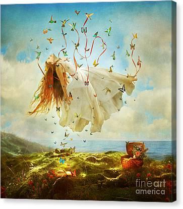 Daydreams Canvas Print by Aimee Stewart