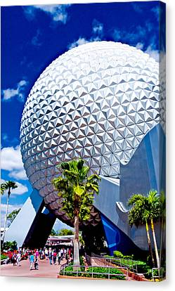 Daylight Dome Canvas Print by Greg Fortier