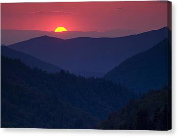 Day's End Canvas Print by Andrew Soundarajan
