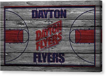 Dayton Flyers Canvas Print by Joe Hamilton