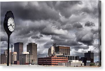 Dayton Ohio Canvas Print by Dan Sproul