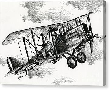 De Havilland Airco Dh.4 Canvas Print by James Williamson